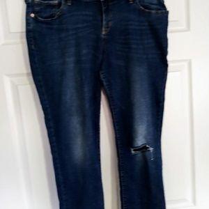 Old Navy Boyfriend Jeans Size 14